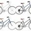 Tokyobike Bisou ของใหม่ น้ำเงินเข้ม สีน้ำเงิน สีขาว สีเขียว thumbnail 1