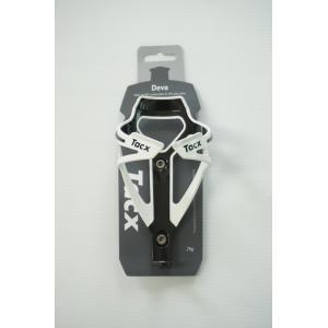 ขากระติ๊กน้ำ สีขาว-ดำ TACX DEVA BOTTLE CAGE WHITE T6154.01