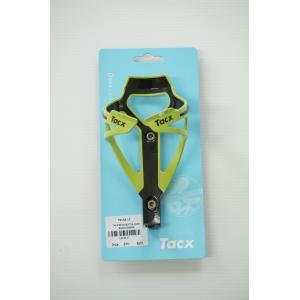 ขากระติ๊กน้ำ สีเขียว-ดำ TACX DEVA BOTTLE CAGE BLACK/GREEN T6154.17