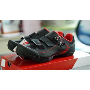 รองเท้าจักรยาน SPECIALIZED COMP MTB สีดำ/แดง 42/9