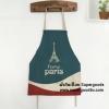 ผ้ากันเปื้อนผู้ใหญ่ ลายปารีสฝรั่งเศษสุดชิค by Supergoods