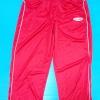 กางเกงวอร์ม big size มีซิปปลายขากางเกงสีแดง เอว 32 นิ้ว สะโพก 48 นิ้ว เอว 43.5 นิ้ว