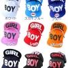 pre order หมวกฮิปฮอป hiphop unisex เท่ๆ จากญี่ปุ่น ลาย Boy&girl