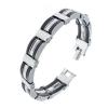 กำไลข้อมือชาย Stainless Steel Style Casual/Sporty