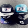 pre order หมวกฮิปฮอป hiphop unisex เท่ๆ จากญี่ปุ่น ลาย hello