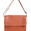 กระเป๋าสะพายรุ่น Square สีแทน (Size S)