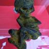 ลูกกรอกพรายกระซิบ ครูบาเดช ป่าช้าบ้านรัตนโกสินทร์ จ.ลำปาง ปลุกเสก ขนาดบูชา สำเนา