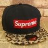 pre order หมวกฮิปฮอป hiphop unisex เท่ๆ สไตล์เกาหลี ลายเสือ Supreme