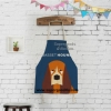 ผ้ากันเปื้อนผู้ใหญ่ หมาบาสเซ็ต ฮาวด์ (Basset Hound)