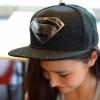 pre order หมวกฮิปฮอป hiphop unisex เท่ๆ สไตล์เกาหลี ลาย ซุปเปอร์แมน