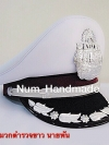 [NEW] #หมวกตำรวจนายพัน สีขาว