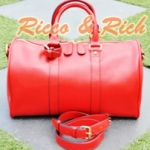กระเป๋าหนังแท้ Lorita - Red