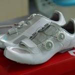 รองเท้าจักรยานผู้หญิง S-Works สีขาว/เงิน 39/8