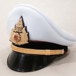 [NEW] #หมวกนายร้อยทหารบก สีขาว