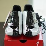 รองเท้าจักรยาน S-WORKS สีขาวดำ 43/9.6