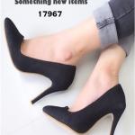 รองเท้าคัชชูหัวแหลม ZARA Style (สีดำ)