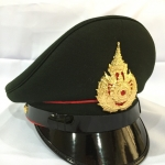 [NEW] #หมวกนายสิบทหารบก สีขี้ม้า