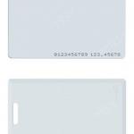 50 ใบ บัตรพรีปริ๊นท์ บัตรทาบ บัตรพร๊อกซิมิตี้ RFID ความจุ 125 khz บัตรสีขาว หนา 0.8 มม. ประมาณ ATM สำนักงาน โรงแรมทั่วไป คอนโด อพาร์เม้นท์ บริษัท ออฟฟิค ระบบบันทึกเวลา ระบบคีย์การ์ดทั่วไป