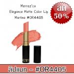 Merrez'ca Elegance Matte Color Lip #OR4405 Martina