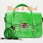 กระเป๋าหนังแท้ Julie - Green