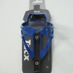 ขากระติ๊กน้ำ สีน้ำเงิน-ดำ TACX DEVE BOTTLE CAGE BLACK/BLUE T6154.05
