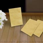 5.5 x 8 ซม. ( 2 x 3 นิ้ว ) กระดาษคราฟท์ สิ้นค้าหมดชั่วคราว จะผลิตเส็จประมาณ 2-3 สัปดาห์