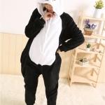 ชุดนอนแฟนซีสัตว์สำหรับผู้ใหญ่ ชุดหมีแพนด้า