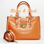 กระเป๋าหนังแท้ Ferlento - Brown