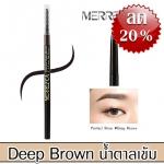 Merrez'ca Perfect Brow Pencil #Deep Brown สีน้ำตาลเข้ม