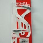 ขากระติกน้ำ ZEE สีขาว ลายดำแดง ZEE CAGE II SIDE LOADING LEFT DT WHITEBLACKRED_43014-2106