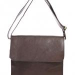 กระเป๋าสะพายรุ่น Square สีน้ำตาลเข้ม (Size S)