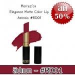Merrez'ca Elegance Matte Color Lip #RD01 Antonio