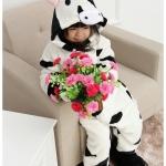 ชุดนอนแฟนซีสัตว์สำหรับเด็ก ชุดลูกวัว