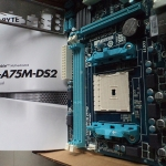 GA-A75M-DS2 AMD Socket FM1 A75 chipset MainBorad มือ 2 ส่งฟรี