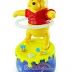หมีพูห์เต้นฮูล่าฮูป ของเล่นเด็กวิ่งชนถอย ฟรีค่าจัดส่งค่ะ