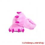 รองเท้าสัตว์สำหรับผู้ใหญ่ สีชมพู