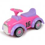 รถขาไถคลาสสิค สีชมพู