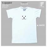 เสื้อยืด Bears Nose สีขาว