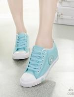รองเท้าผ้าใบ Sneaker Converse Style (สีเขียว )
