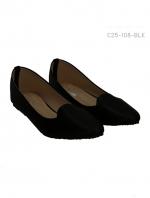 รองเท้าคัทชู โคเรียสไตล์ (สีดำ)