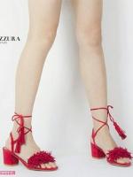 รองเท้าส้นสูงสีแดง งานนำเข้า Brand-Aquazzura Brandปั้มlogo ความสูง2นิ้ว งานเป๊ะมาก รับกระกันความงามน๊า