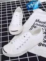 รองเท้าผ้าใบ สไตล์Converse Jack Purcell (สีขาว )