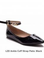 รองเท้าส้นแบนสีดำ หนังพียูเกรดเอ+ อะไหล่อย่างดี งานสวยระดับหลักพัน แต่ราคาหลักร้อย ใส่สบายทุกคู่