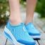 รองเท้าผ้าใบเสริมส้น Sport Girl (สีฟ้า )