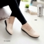 รองเท้าคัทชู ทรงLoafer หน้าหยัก (สีครีม ) thumbnail 2