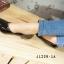รองเท้าคัทชูหัวมน งานหนังแก้ว (สีดำ ) thumbnail 5