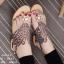 รองเท้าแตะแบบรัดข้อ สไตล์แบรนด์Guerlain (สีทอง ) thumbnail 2