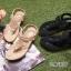 รองเท้าแตะลำลองรัดส้น งานบุนวม (สีดำ ) thumbnail 2