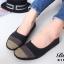 รองเท้าคัชชู สไตล์สุขภาพ หนังนิ่ม (สีดำ ) thumbnail 2