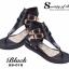รองเท้าส้นแบน สไตล์เกาหลี (สีดำ ) thumbnail 2